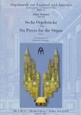 6 Orgelstücke Volume 1 John Stainer Partition Orgue - laflutedepan.com