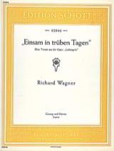 Richard Wagner - Einsam In Trüben Tagen. Lohengrin - Sheet Music - di-arezzo.com