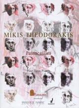 Mikis Theodorakis - Passacailles. 2 Pianos - Partition - di-arezzo.fr