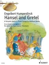 Engelbert Humperdinck - Hansel Und Gretel - Partition - di-arezzo.fr
