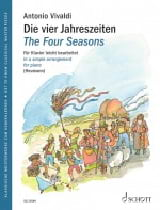 The Four Seasons VIVALDI Partition Piano - laflutedepan.com
