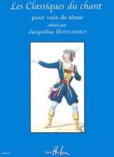 Les Classiques Du Chant. Ténor - Partition - laflutedepan.com