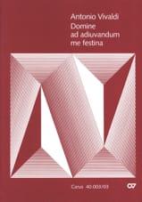 Domine Ad Adiuvandum me Festina RV 593 VIVALDI laflutedepan.com
