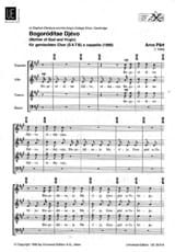 Arvo Pärt - Bogoroditse Djevo - Sheet Music - di-arezzo.co.uk