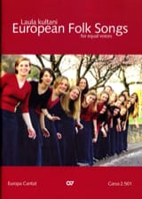 European Folk Songs. Voix Egales - Partition - laflutedepan.com