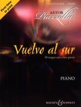 Vuelvo Al Sur Astor Piazzolla Partition Piano - laflutedepan.com
