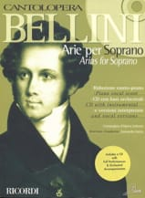 Arie Per Soprano Vincenzo Bellini Partition Opéras - laflutedepan.com