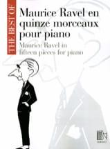 15 Morceaux Pour Piano Maurice Ravel Partition laflutedepan.com