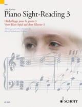 Piano Sight-Reading Volume 3 John Kember Partition laflutedepan.com
