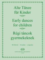 Alte tanze für Kinder - Partition - Piano - laflutedepan.com