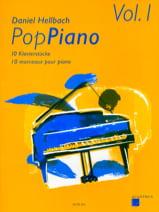 Daniel Hellbach - Pop Piano Volume 1 - Partition - di-arezzo.fr