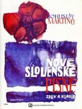 Nove Slovenske Pisne MARTINU Partition Mélodies - laflutedepan