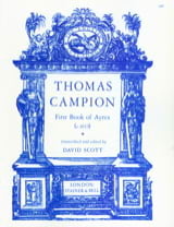 First Book Of Ayres Thomas Campion Partition Luth - laflutedepan.com