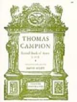 Second Book Of Ayres Thomas Campion Partition laflutedepan.com