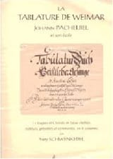 Johann Pachelbel - The Weimar Tablature - Sheet Music - di-arezzo.co.uk
