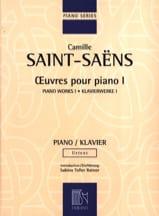 Oeuvres Pour Piano Volume 1 Camille Saint-Saëns laflutedepan.com