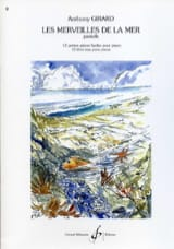 Les Merveilles de la Mer Anthony Girard Partition Piano - laflutedepan