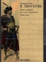 Giuseppe Verdi - Il Trovatore - Sheet Music - di-arezzo.com