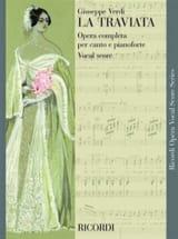 Giuseppe Verdi - La Traviata - Sheet Music - di-arezzo.com