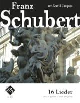16 Lieder SCHUBERT Partition Guitare - laflutedepan.com