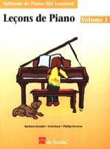 Kreader / Kern Jerome / Keveren / Rejino - Leçons de Piano Volume 3 - Partitura - di-arezzo.it