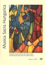 Musica Sacra Hungarica Partition Chœur - laflutedepan.com
