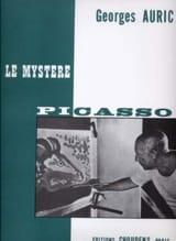 Le Mystère Picasso Georges Auric Partition Piano - laflutedepan.com