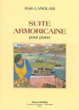 Suite Armoricaine Op. 20 Jean Langlais Partition laflutedepan.com