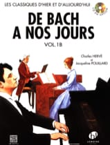 DE BACH A NOS JOURS - from Bach to the present day - Volume 1B - Sheet Music - di-arezzo.com
