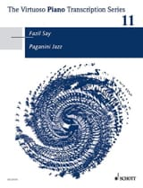 Paganini Jazz Fazil Say Partition Piano - laflutedepan.com