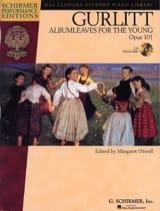 Albumleaves For The Young Op. 101 Cornelius Gurlitt laflutedepan.com