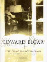 5 Piano Improvisations Edward Elgar Partition Piano - laflutedepan.com