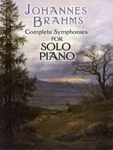 Complete Symphonies BRAHMS Partition Piano - laflutedepan.com