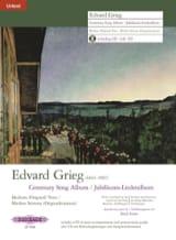 Edward Grieg - Jubiläums-Liederalbum - Partition - di-arezzo.fr