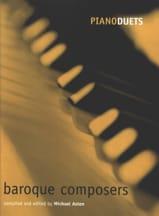 Baroque Composers. 4 Mains Partition Piano - laflutedepan.com