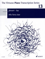 Alla Turca Jazz - MOZART / SAY - Partition - Piano - laflutedepan.com