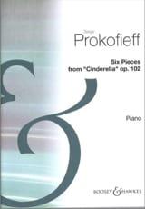 6 Pièces de Cendrillon Opus 102 - Sergei Prokofiev - laflutedepan.com