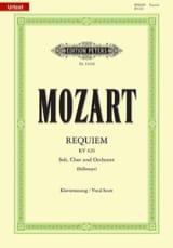 Requiem MOZART Partition Chœur - laflutedepan.com