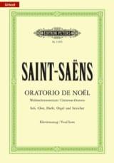 Oratorio de Noël Camille Saint-Saëns Partition laflutedepan.com