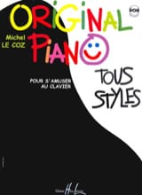 Original Piano Tous Styles Coz Michel Le Partition laflutedepan.com