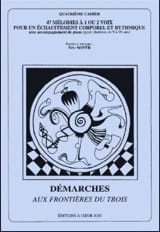Démarches Aux Frontières Du 3 (4ème Cahier) laflutedepan.com