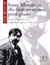 18 Morceaux Pour Piano Isaac Albeniz Partition laflutedepan.com