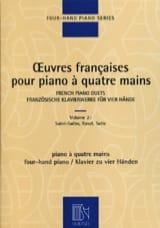 Oeuvres Françaises pour piano 4 Mains. Volume 2 laflutedepan.com