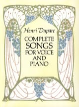 Henri Duparc - Complete Songs - Sheet Music - di-arezzo.co.uk