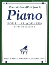 Cours de Piano Adultes Volume 2 ALFRED Partition laflutedepan.com