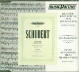 Franz Schubert - Die Schöne Mullerin. CD Voix Haute - Partition - di-arezzo.fr