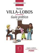 Guia Pratico Sélection Heitor Villa-Lobos Partition laflutedepan.com