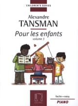 Alexandre Tansman - For Children Volume 3 - Sheet Music - di-arezzo.com
