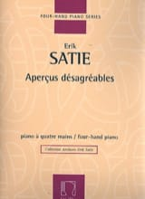 Erik Satie - Ideas desagradables. 4 manos - Partitura - di-arezzo.es