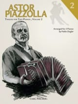 Astor Piazzolla - Tangos For 2 Pianos Volume 2 - Sheet Music - di-arezzo.com